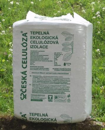 Česká izolace - ČESKÁ CELULOZA - foukaná izolace