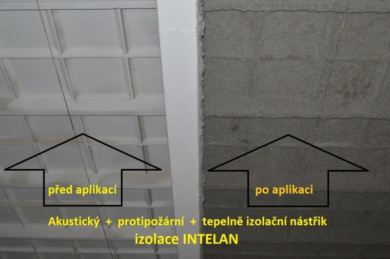 INTELAN - protipožární a akustická izolace