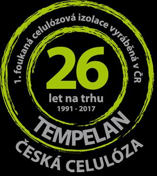 Foukaná celulózová izolace TEMPELAN - ČESKÁ CELULÓZA