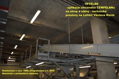 Akustická a protipožární izolace INTELAN - TEMPELAN